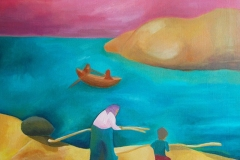 Tulkintaa 2010. Tulkinta Venny Soldan-Brofeldtin saaristoaiheisesta maalauksesta.