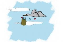 Kehitysyhteistyö, kuvitus Lapin ylioppilaslehteen 2008