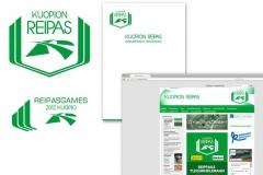Kuopion Reipas logo, graafinen ohjeisto