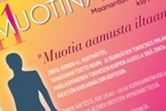 Zonta-kerhon muotinäytöksen julisteet 2014 ja 2015