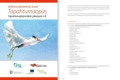 SEKE-hanke, Tapahtumaoppaan graafinen suunnittelu ja taitto (sivumäärä 36)